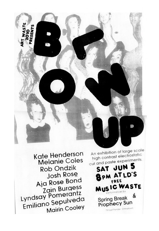 blow up poster